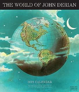 The World of John Derian Wall Calendar 2018 [12 x 12 Inches]