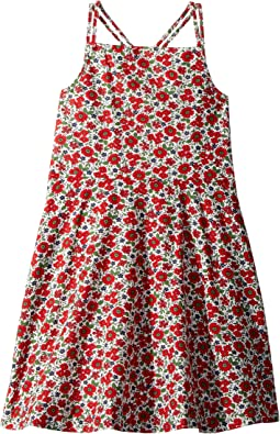 Floral Linen-Cotton Dress (Little Kids)