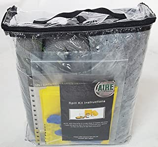 AIRE INDUSTRIAL 942-006456 Spill Kit Universal Economy Portable, 5 gal, Clear PVC, 5 gal, Clear PVC