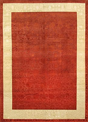 Amazon Com Jericho Rug 4 10x7 10 Red Synthetic Rugs Kitchen Dining