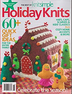 The Best of Knit Simple Magazine Holiday Knits 2017
