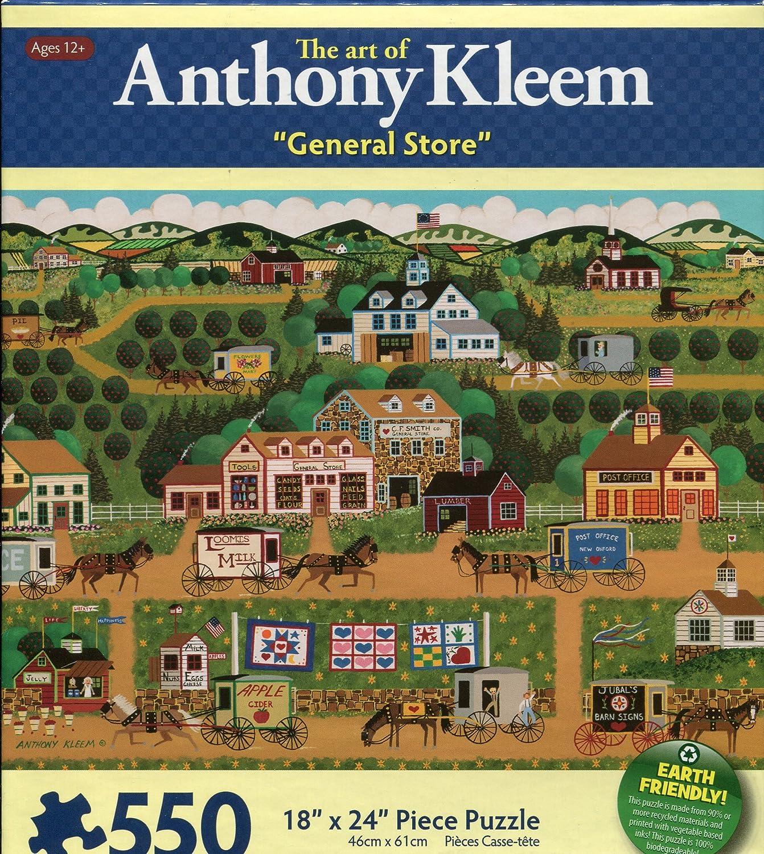 Anthony Kleem General Store 550 Piece Puzzle