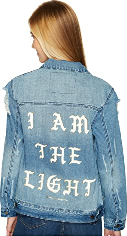 Spiritual Gangster - I Am The Light Denim Jacket