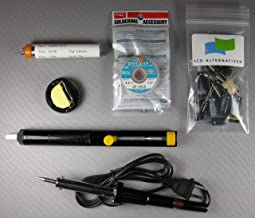 LCDalternatives Samsung LN-52A650A1F LCD TV, Complete Repair Kit v1, 22 Capacitors and Soldering Accessories (Soldering Iron and Stand, Solder Sucker, Solder and De-Solder Wick)