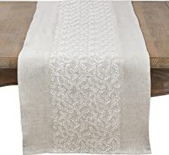 fenncostyles.com Pretty Willows Embroidered Table Runner-16 x72