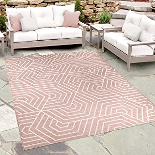 Orian Rugs Jersey Home Indoor/Outdoor Hexabulous Area Rug, 7'8