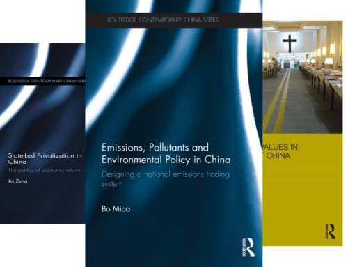 Routledge Contemporary China (101-150) (50 Book Series)