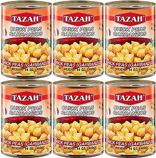 Premium Garbanzo Beans ( Chick Peas ) 14 Oz - Pack of 6