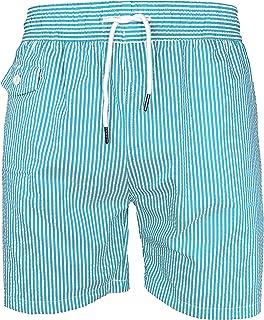 Kapray Clothing Mens Swimming Board Shorts Swim Shorts Trunks Crinkle Fabric Beach Summer S-2XL