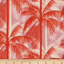 Cotton + Steel 0548646 Poolside Palms Pink Fabric by the Yard