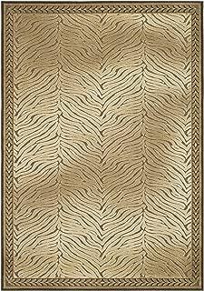Safavieh Paradise Collection PAR80-303 Brown Viscose Area Rug (4' x 5'7