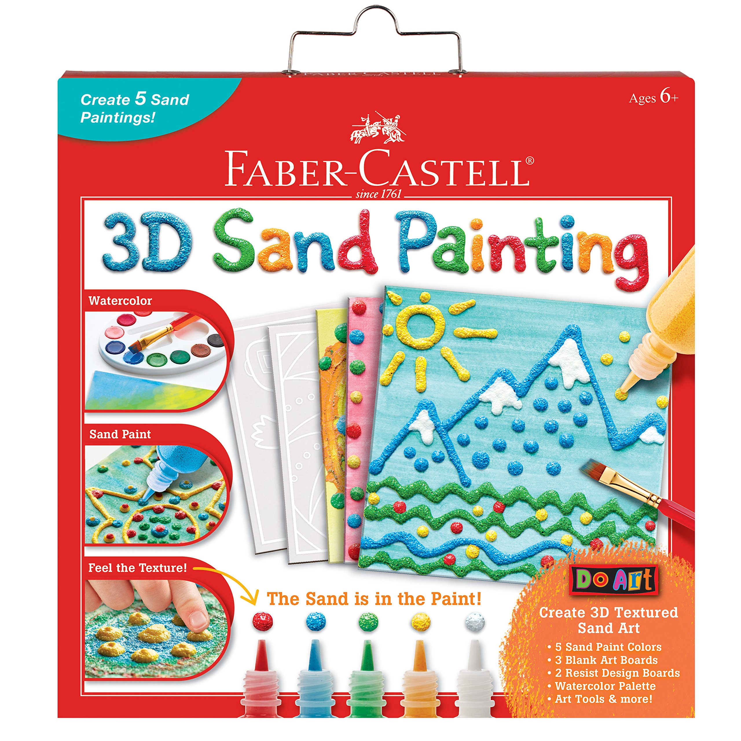 Faber Castell 3D Sand Painting