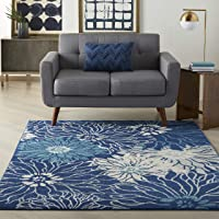 Nourison Passion Bohemian Floral 3ft 9-in x 5-ft 9-in  Area Rug Deals