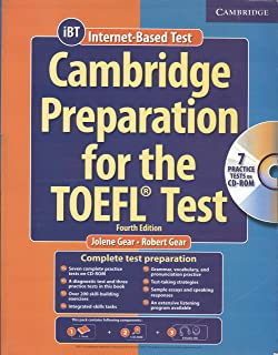 CAMBRIDGE PREPARATION FOR THE TOEFL TEST BOOK WITH 1 CD ROM & ACDS 4/ED