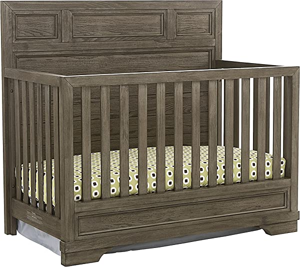 Westwood Design Foundry 4 In 1 Convertible Crib Brushed Pewter