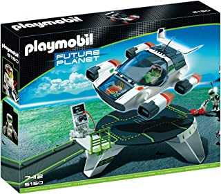 Playmobil E-Rangers Turbojet With Launch For Kids, ONE SIZE Multi/None