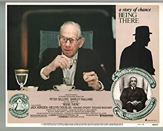 MOVIE POSTER: Being There-Peter Sellers-Melvyn Douglas-Color-Lobby Card-11x14