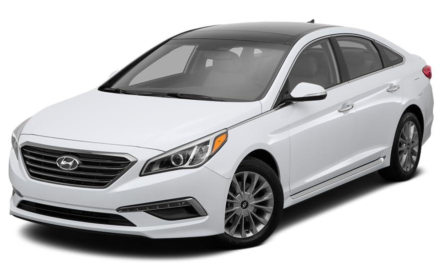 Unique Hyundai sonata 2015 Black