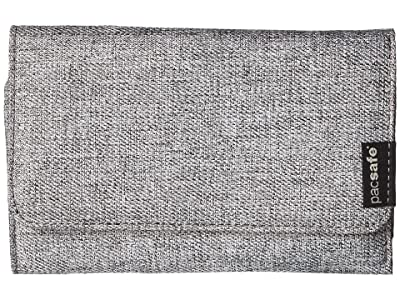 Pacsafe RFIDsafe LX100 RFID Blocking Wallet (Tweed Grey) Wallet Handbags
