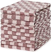 Taille Unique Polyester Maching916 Torchons de Cuisine en Coton Lavable en Machine Motif No/ël 45,7 x 71,1 cm Blanc