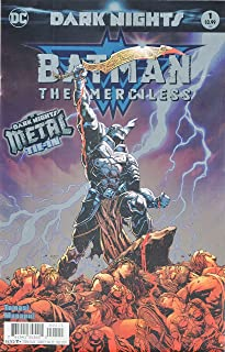 BATMAN THE MERCILESS #1 COVER A Release date 10/25/17 (METAL)