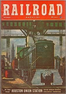 RAILROAD MAGAZINE SEPTEMBER 1952