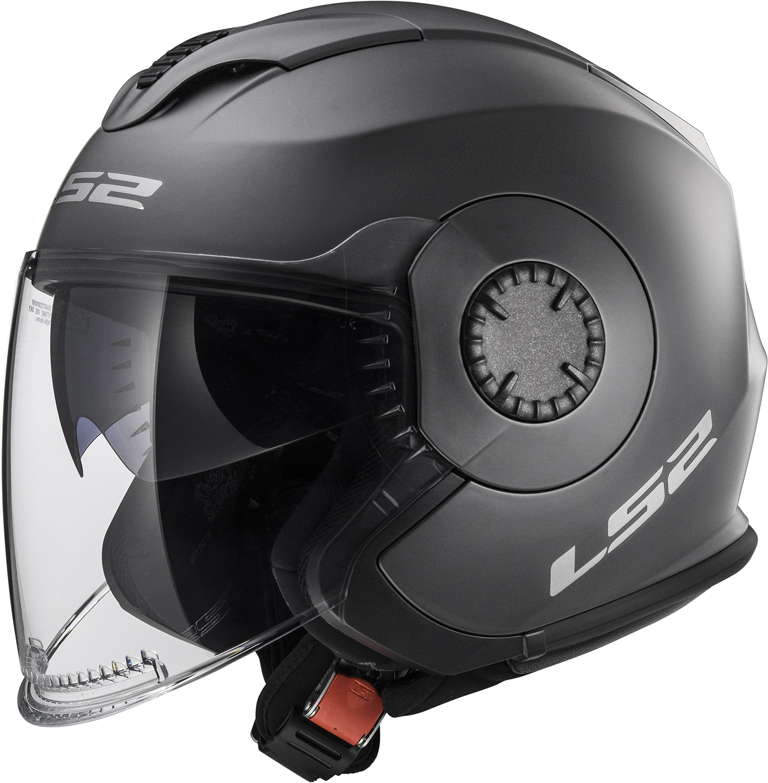 LS2 Helmets Unisex Adult Helmet Titanium