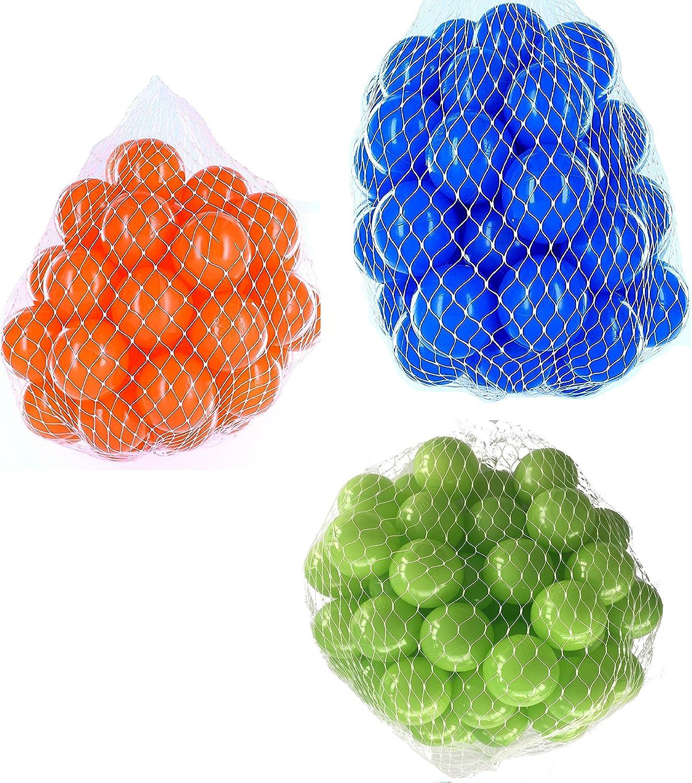 tiempo libre Pelotas para pelotas baño Mix Mix Mix con hellgruen variadas, Color azul y naranja Talla 2100 Stück  hasta 60% de descuento