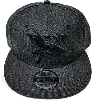 buy popular a843c 7a850 San Jose Sharks New Era Speed Up Snapback Cap Hat Grey Black