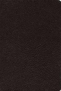 ESV Omega Thinline Reference Bible (Goatskin, Black)
