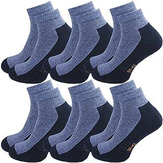 GAWILO Lot de 6 paires de chaussettes de sport