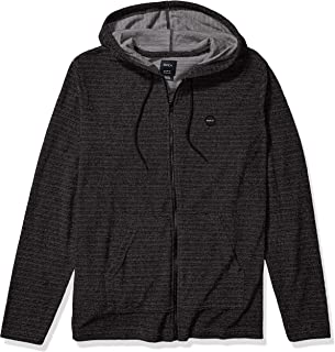 RVCA Men's Super Marle Zip Knit Hoodie