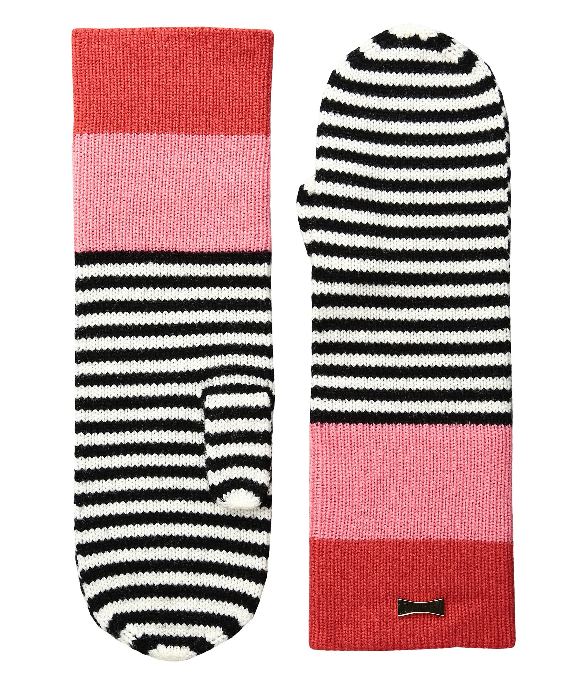Guantes para Mujer Kate Spade New York Color Block Stripe Mitten  + Kate Spade New York en VeoyCompro.net