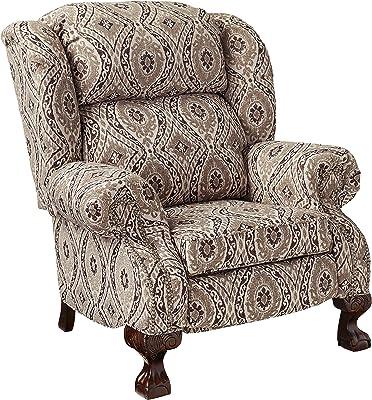 Amazon Com Comfort Pointe Dante Accent Chair White