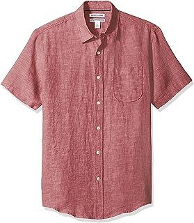 پیراهن آستین کوتاه و آستین کوتاه مردان آمازون Essentials