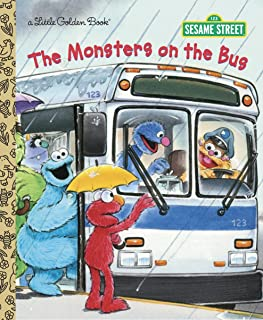 The Monsters on the Bus (Sesame Street) (Little Golden Book)