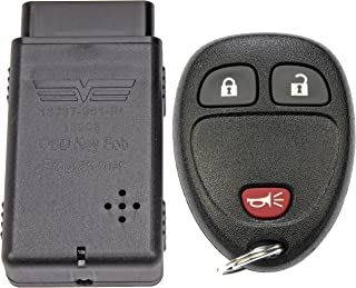Dorman 99161 Keyless Entry Transmitter for Select Chevrolet/GMC Models, Black (OE FIX)