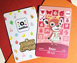 $22 » Beau Amiibo Card Animal Crossing Third Party NFC Card. Water Resistant.