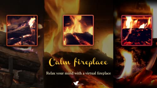『Calm Fireplace TV』の6枚目の画像