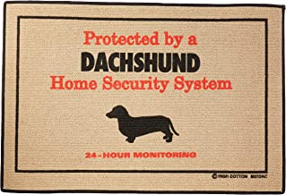 product image for High Cotton Home Security Dachshund Doormat