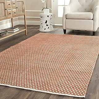 safavieh boston orange area rug