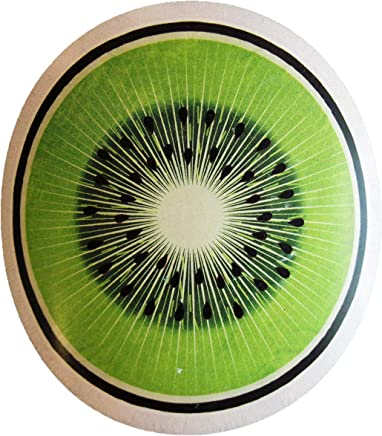Noble Excellence Kiwi Fruit Round Beach Towel, Green