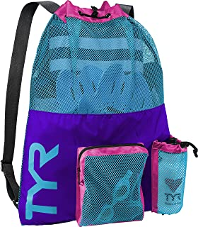 tyr purple swim bag