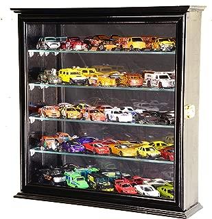 4 Adjustable Shelves Hot Wheels/Matchbox/Diecast Cars / 1/64 Model Display Case Cabinet
