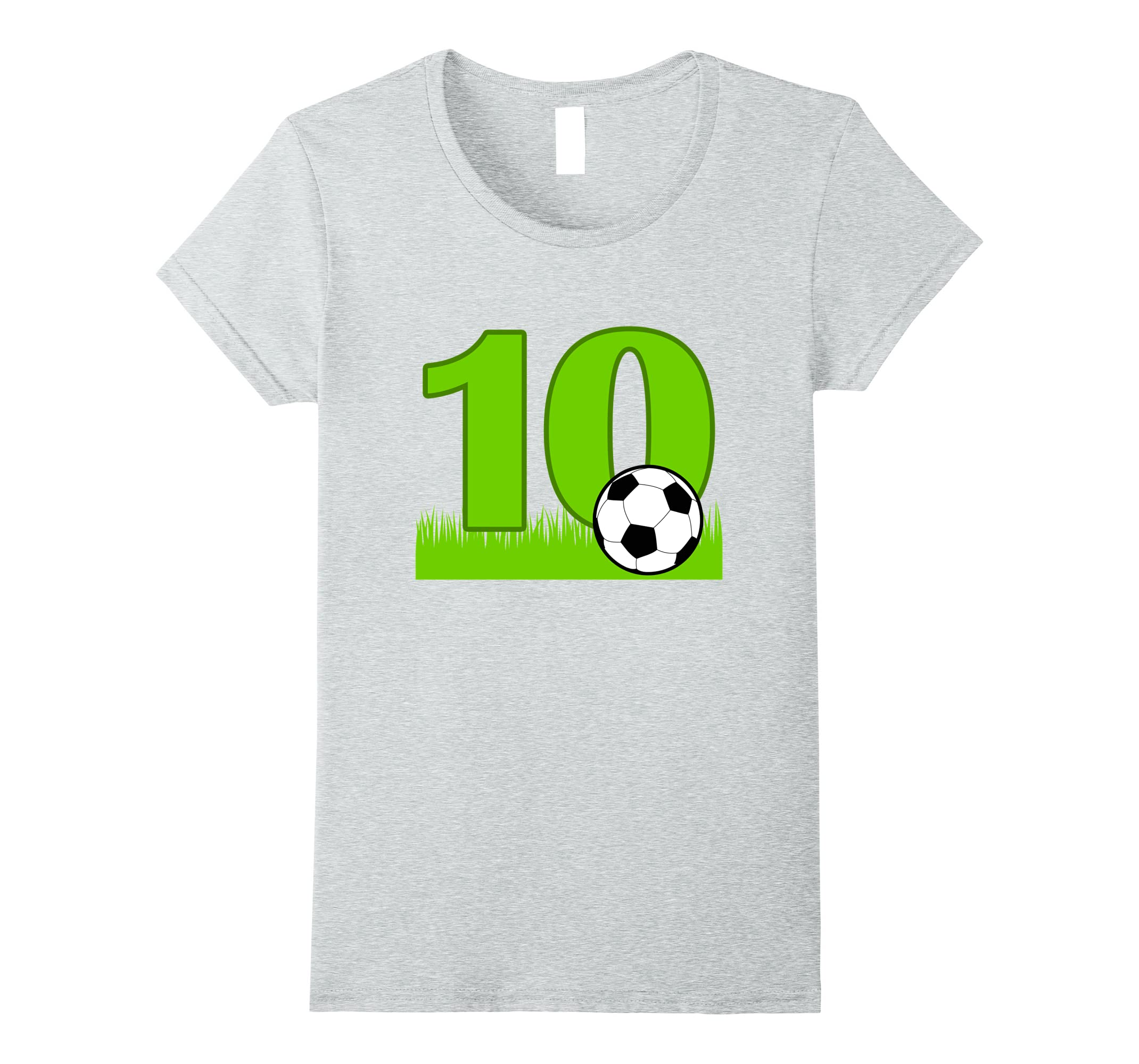 10th Birthday Soccer T Shirt years-Tovacu