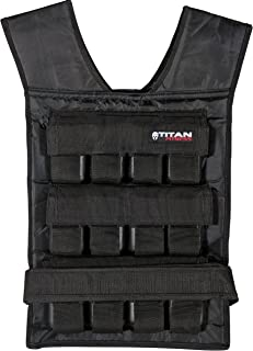 Titan Adjustable Weighted Vest   20-60 LB