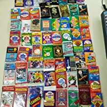 50 Original Unopened Packs of Vintage Baseball Cards (1986-1994) - Look for rookie cards, hall of famers, special inserts, and more!!