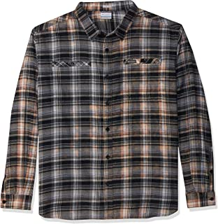 Columbia Men's Flare Gun Washed Long Sleeve Flannel