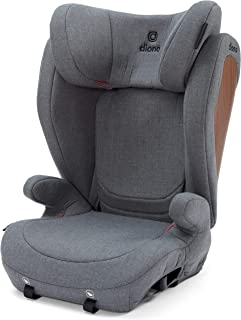 Diono Monterey 4 DXT Latch, The Original Expandable Booster Seat (40-120 lbs.), Vogue Gray Dark Wool