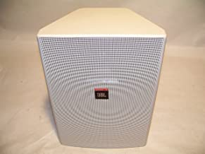 JBL Control 28 High-Output Two-Way 8-Inch Indoor/Outdoor Speaker Pair, White